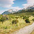 Towards Mt Cook Village
