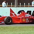 Victorious Ferrari!