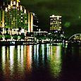 Yarra River at night