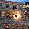 Opera from the Balcony at twilight