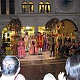 Performers in the Square