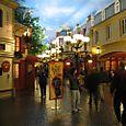 Parisian Streets beneath a painted sky