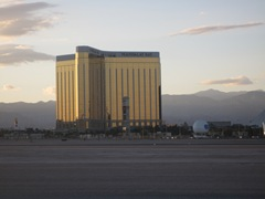 Mandalay Bay (from the aircraft)