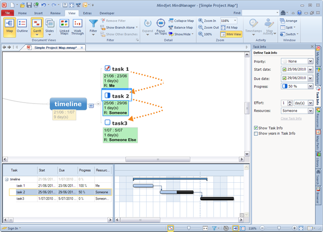MindManager9_UI_View_Gantt
