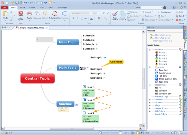 MindManager9_UI_Home