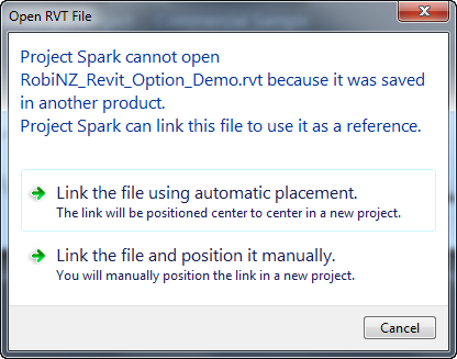 Spark_Revit_2012_Project_Open