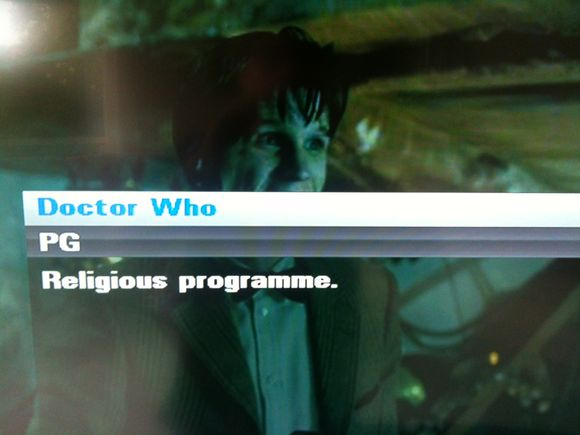 Doctor Who, Religious Programme?