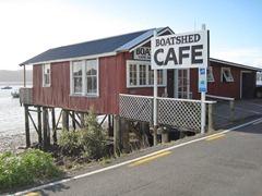 Boatshed Café Rawene