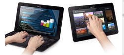 Image shows Samsung Ativ Pro