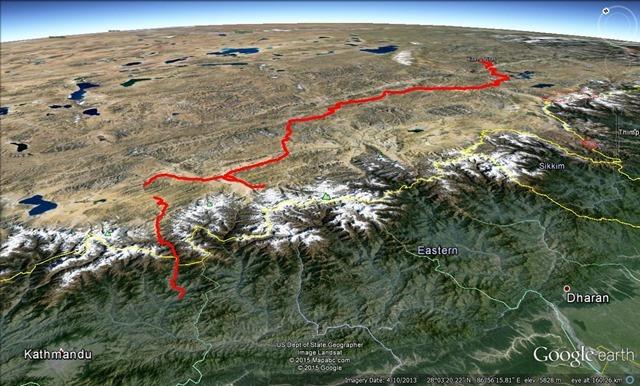 Google Earth Bobs Track