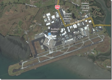Auckland International Airport Aerial
