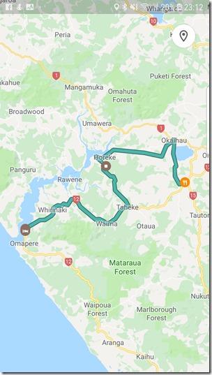 Friday Ride Kaikohe to Opononi