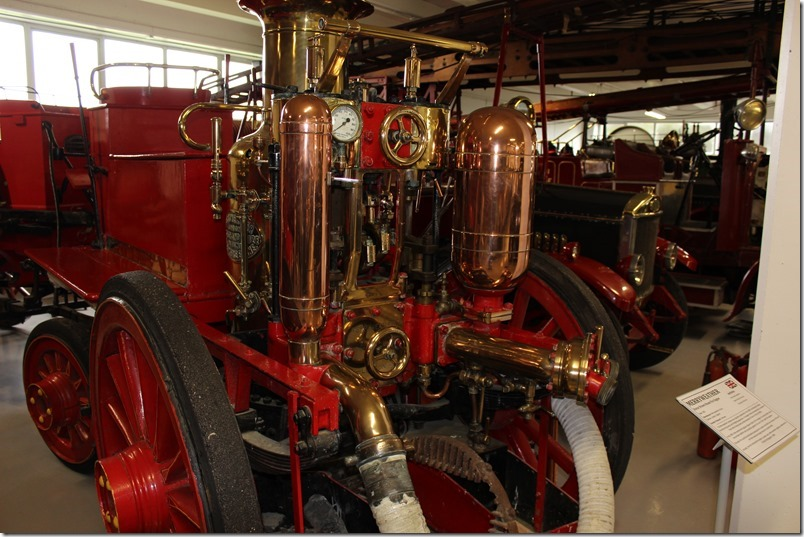 Southward Car Museum Fire Engines
