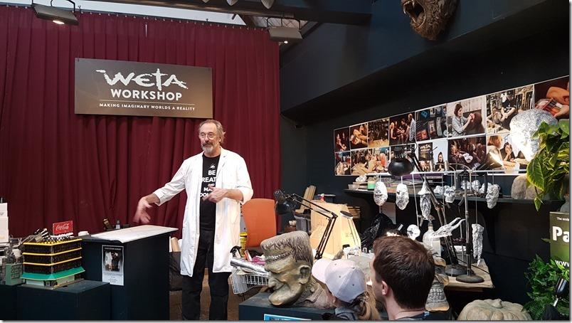 Weta Workshop/Studio tour