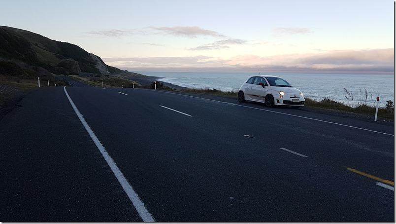 AHBART on Kaikoura Coast Highway