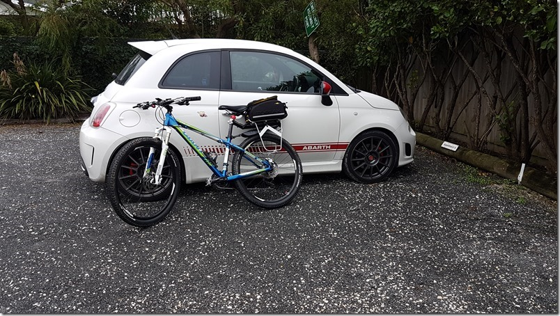 Abarth and Giant MTB