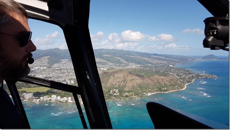 Diamond Head | Blue Hawaiian Helicopter flight