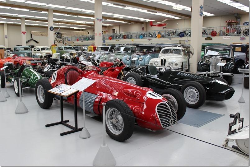 Southward Car Museum Maserati 250F & Indy
