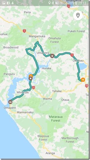 Saturday Ride Opononi, Rawene, Kohukohu to Kaikohe