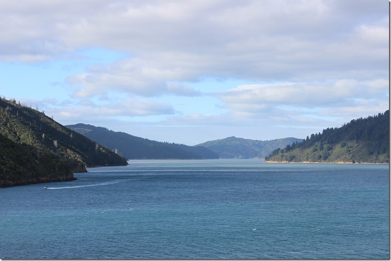Towards Cook Strait