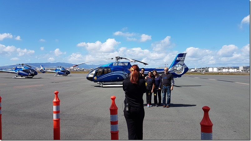 Blue Hawaiian Helicopter flight before ours