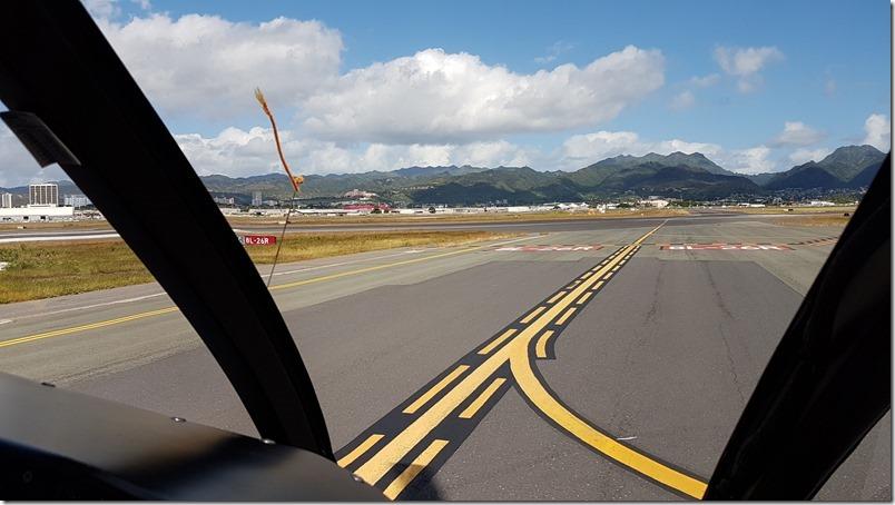Taxi flying takeoff | Blue Hawaiian Helicopter flight