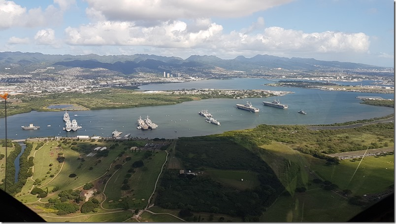 Pearl Harbour | Blue Hawaiian Helicopter flight
