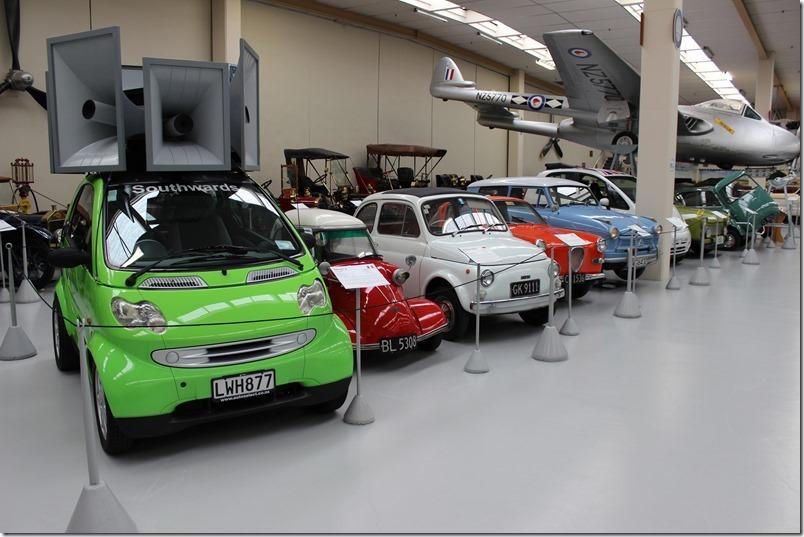 Southward Car Museum Little Cars Fiat 500