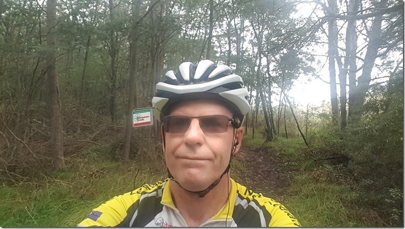 Kaikōura Cycle Trail selfie