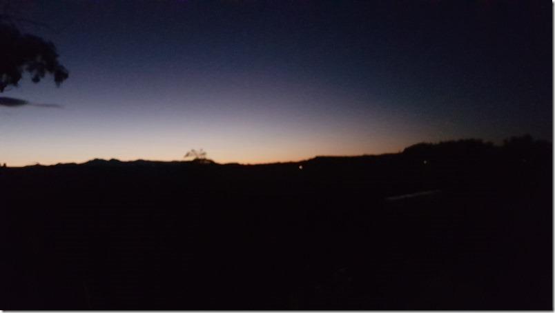 Sunset, Burnside Homestead