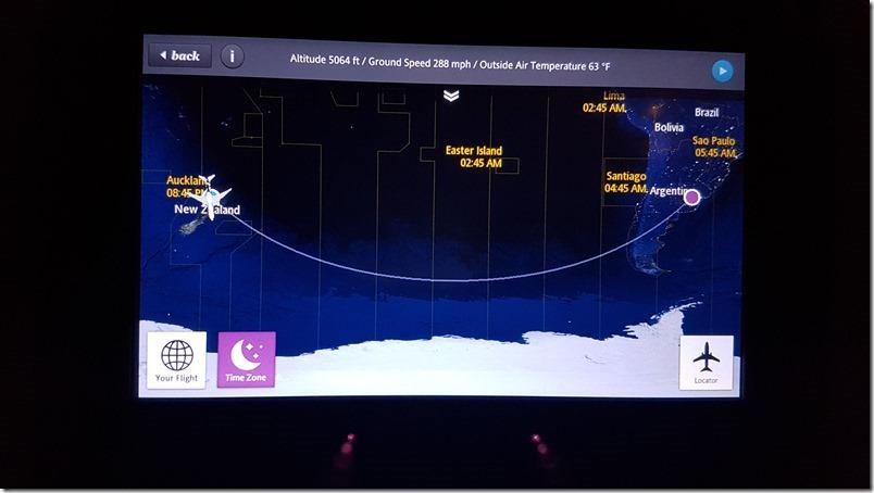 NZ - ARG Flight Map Overall