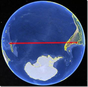 Globe Flight Path Direct