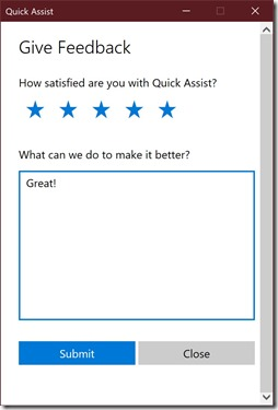 Quick_Assist_Survey
