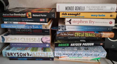 Just some of the To Read heap