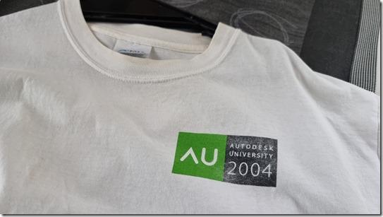 Autodesk_Merchandise_Autodesk _University_2004_Shirt