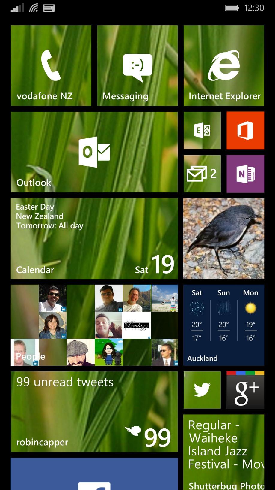 Windows Phone 8 1 Transparent Tiles Robinz Personal Blog
