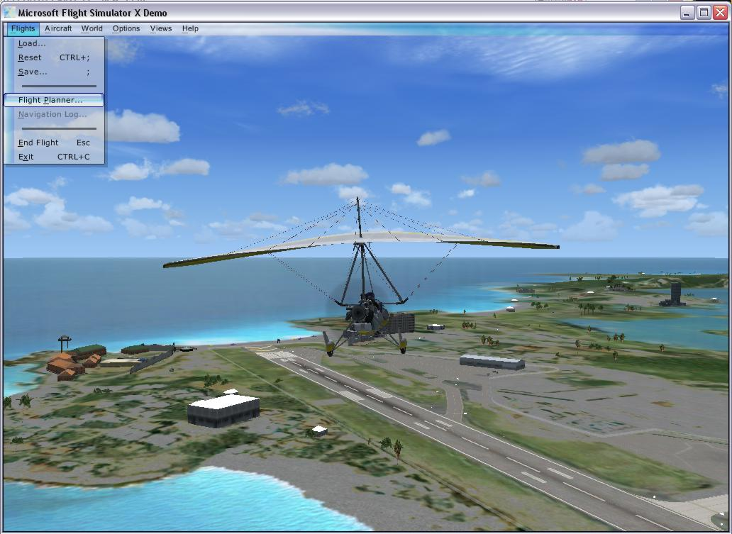 microsoft flight simulator x download demo