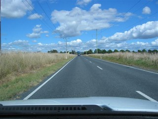The road to New Plymouth