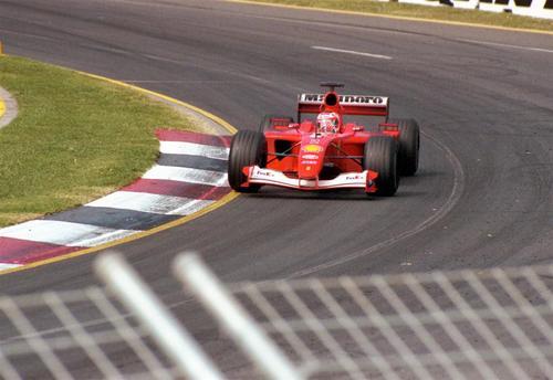 F1 Melbourne 2001