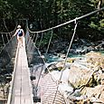 Swing Bridge on the Routeburn Track