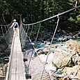Swing Bridge on the Routeburn Track