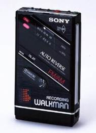 WM-F202 recording Walkman from 1987