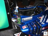 University of Auckland Formula SAE Team Car - Note the green V can