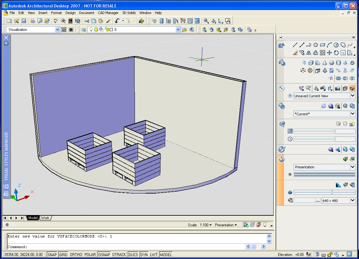 It's a visual world    - AutoCAD and Architectural Desktop