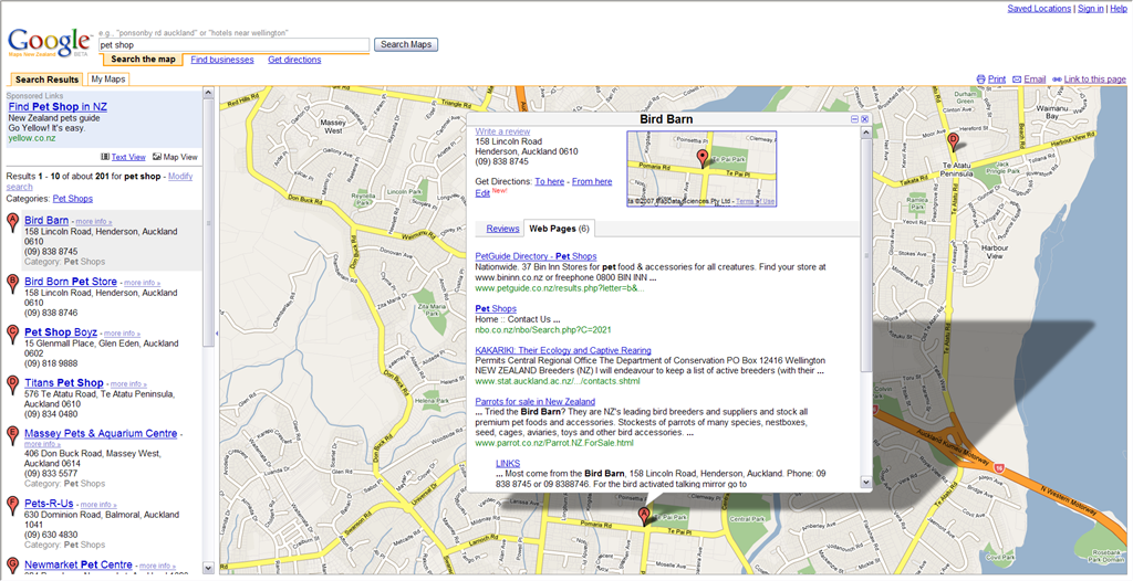 Google Map Of New Zealand.Google Maps For New Zealand Robinz Cad Blog