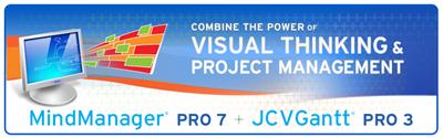 MindManager+JCVGantt
