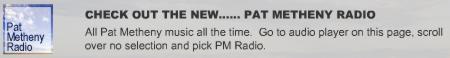 Pat Metheny Radio – All Pat Metheny music, Streaming all day!