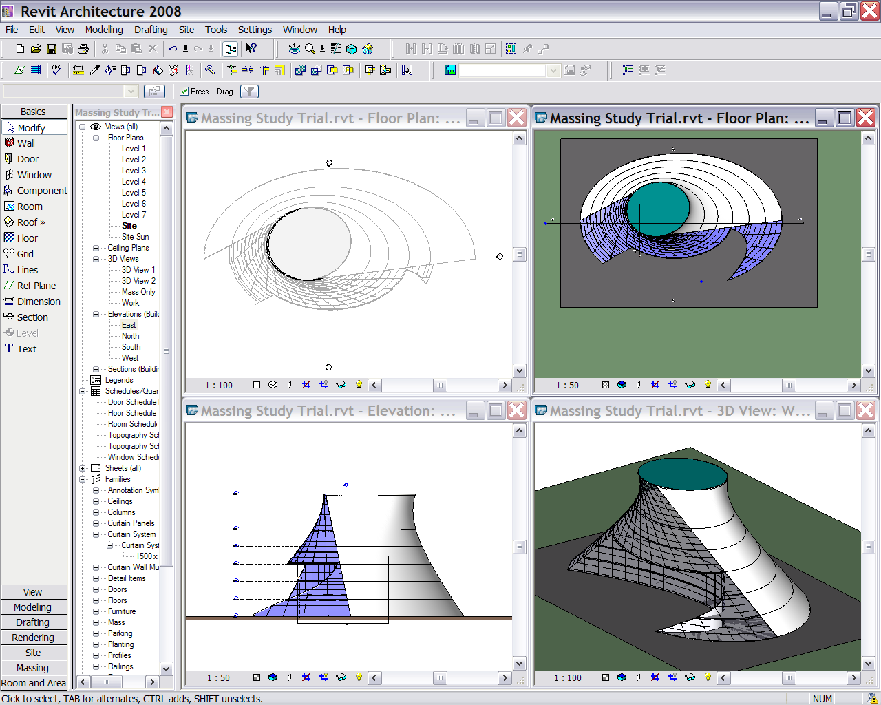 Revit and AutoCAD's Visual Styles - A SketchUp alternative? - RobiNZ