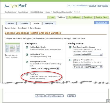 TypePadFeedburnerFlare