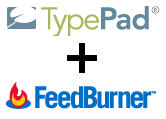 TypePad+FeedBurner